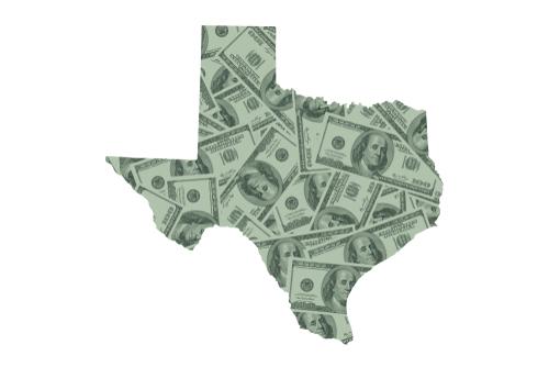 shutterstock_1332560216 texas spending